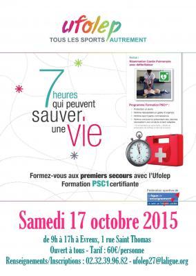 Affiche psc1 17 10 2015